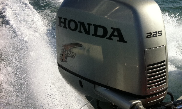 Servicing Honda Outboard in Sussex